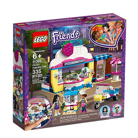 Lego Friends - Olivia's Cupcake Cafe
