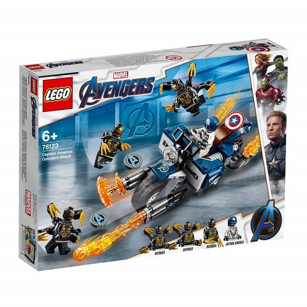 Lego DC and Marvel - Captain America Outriders Attack