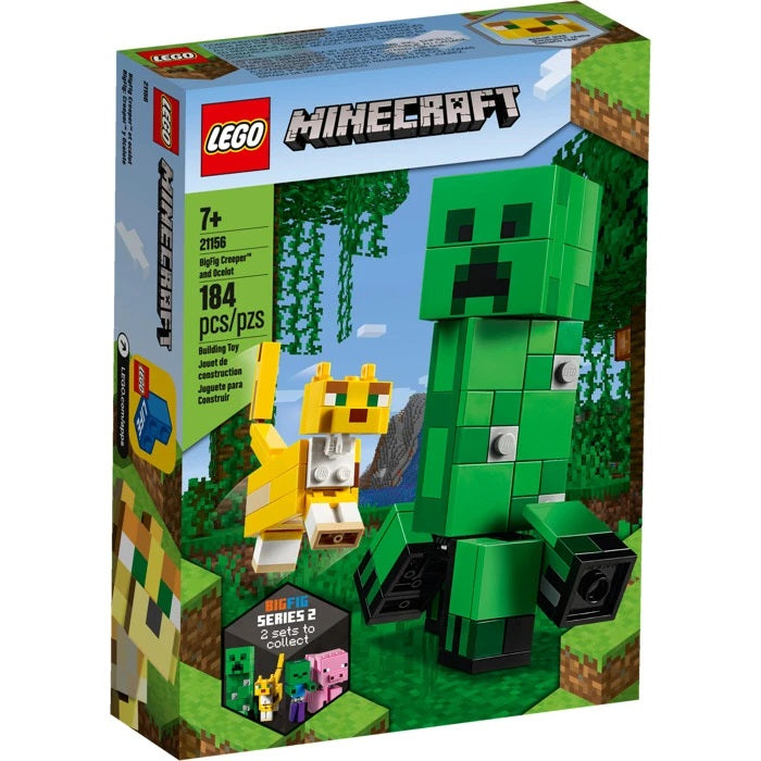 Lego Minecraft - Bigfig Creeper and Ocelot