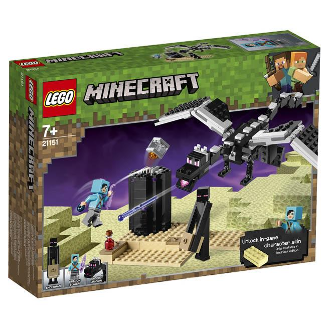 Lego Minecraft - End Battle