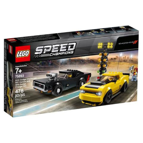 Lego Speed Champions - Dodge Charger And Challenger