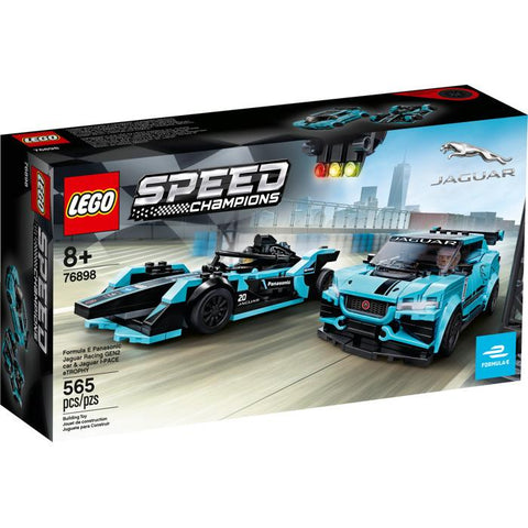 Lego Speed Champions - Formula E Jaguar and Gen 2 Car