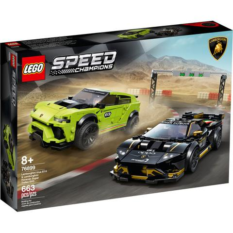 Lego Speed Champions - Lamborghini Urus and Huracan