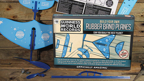 Guinness World Records - Build Your Own Rubber Band Planes