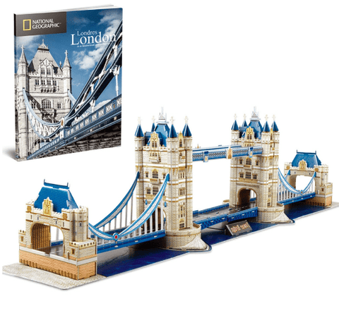 3D Puzzle - National Geographic : Tower Bridge (120pcs)