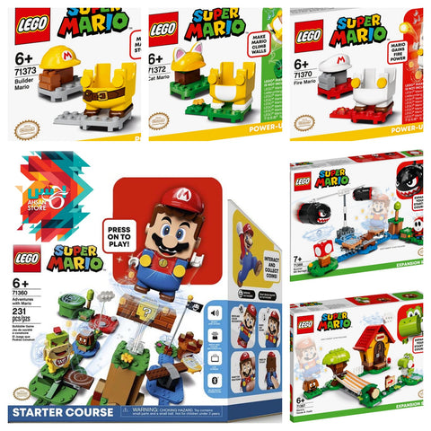 Lego Super Mario Bundle ( 3 Items incl Starter Course)