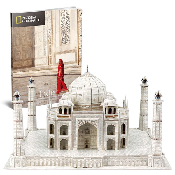 3D Puzzle - National Geographic : Taj Mahal 87pcs