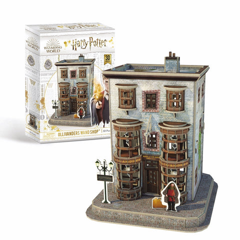 3D Puzzle - Harry Potter : Diagon Alley - Ollivanders Wand Shop (66pcs)