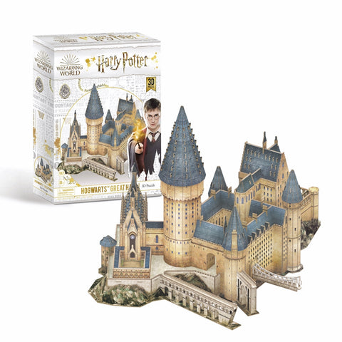 3D Puzzle - Harry Potter : Hogwarts Great Hall (185pcs)