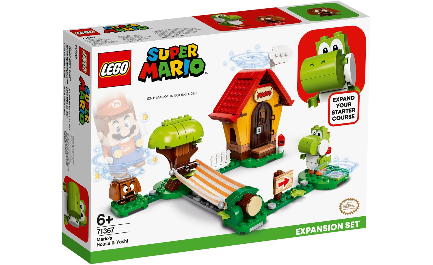 Lego Adventures with Super Mario Yoshi Expansion