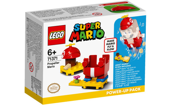 Lego Adventures with Super Mario Propeller Fire up Pack