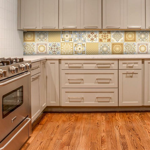 Moroccan Earth - vinyl wall tiles