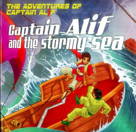 Captain Alif and The Stormy Sea