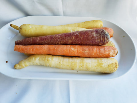 Carrots, Organic, Heirloom Colored (2lb)