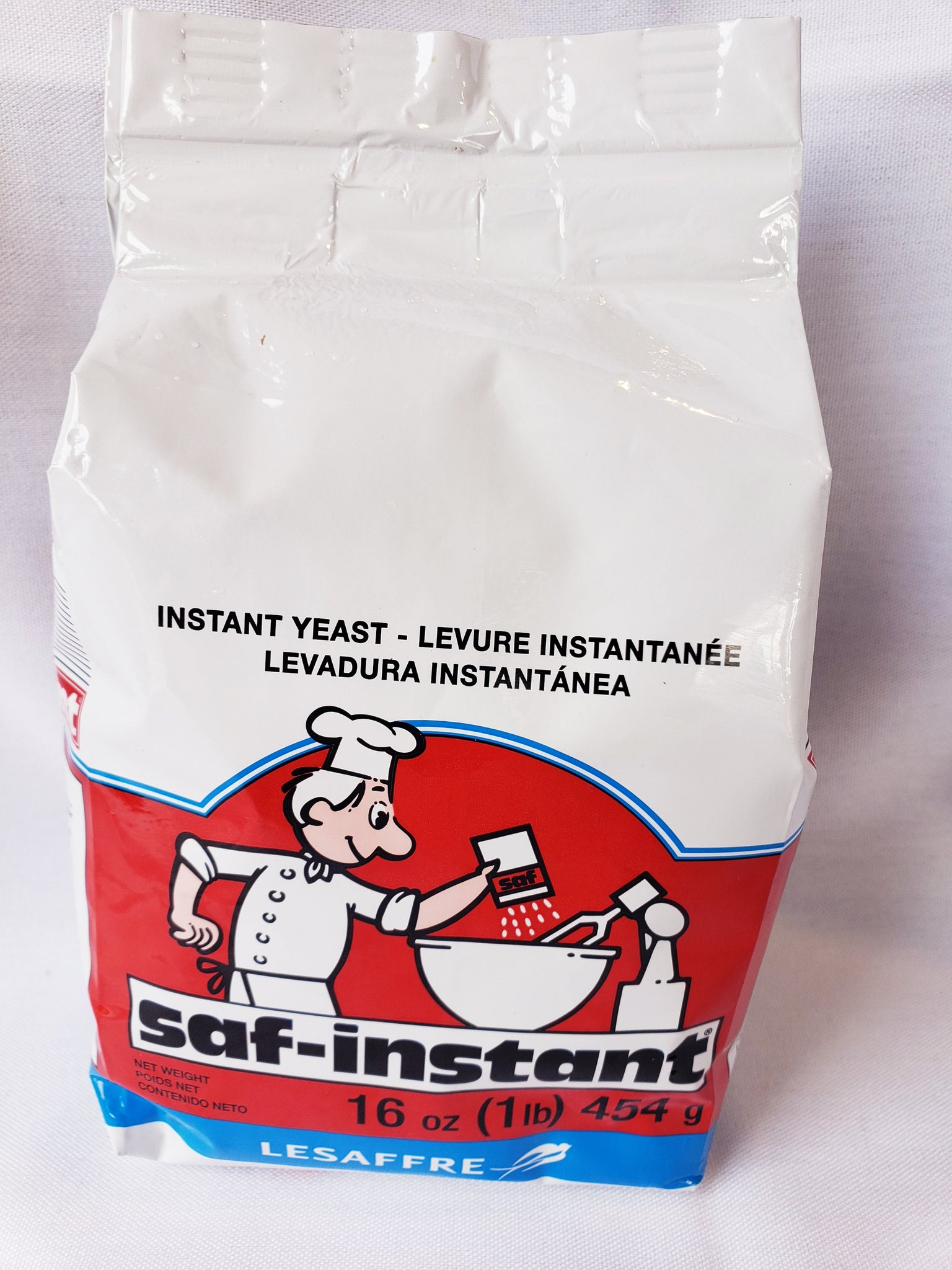 Dry Yeast, Instant (1lb large Block)