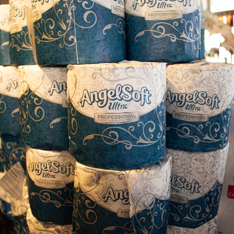 Paper, Toilet Paper, 2 Ply, 400 Sheets Per Roll, (By the Roll) LIMIT 6 PER ORDER