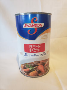 Broth, Beef Canned (Equals About 4 Regular Cans 49.5oz)