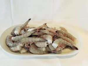 Fish, White Mexican Prawn, Wild, Jumbo U15 (Per lb)