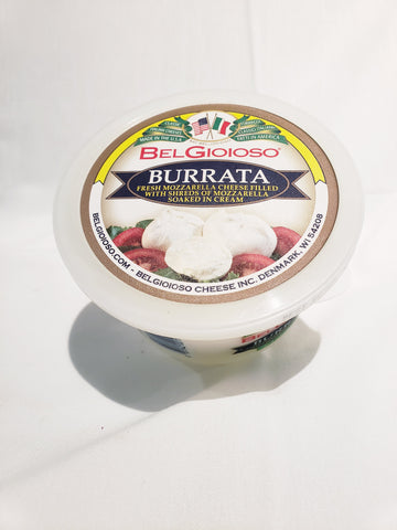 Cheese, Mozzarella, Burrata, Creamy Mozzarella, Italy (16oz)