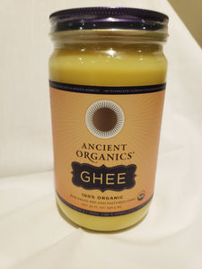 Butter, Ghee, Grass Fed, Pasture Raised, Organic (32 oz)