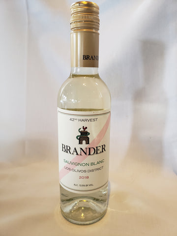 Wine, Sauvignon Blanc, Brander, 375 ml, Los Olivos District, 2018