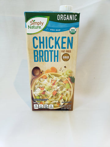 Broth, Chicken Organic (Qt)