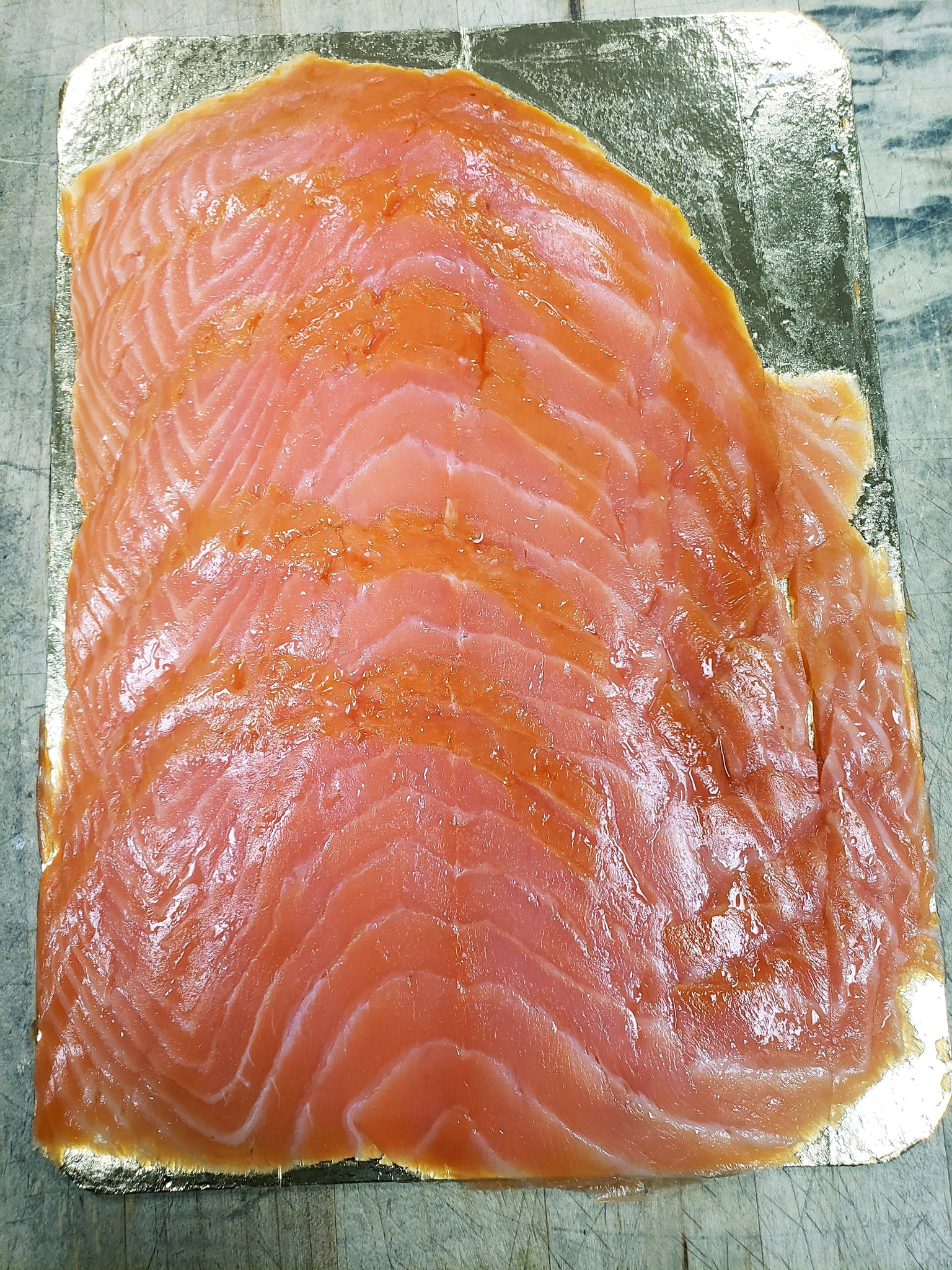 Fish, Salmon, Smoked, Sliced (Multiple Sizes)
