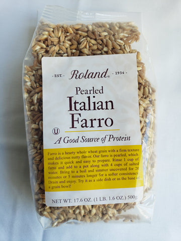 Farro Ancient Grain- Dry (17.6oz Large Bag)