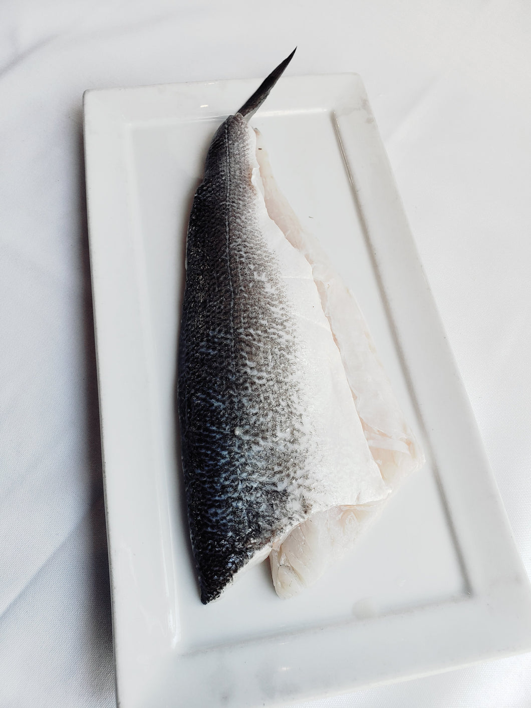 Fish, Branzino, Loup De Mer, Mediterranean Seabass, Whole, Skin On, Tail On, De-Boned (9oz)