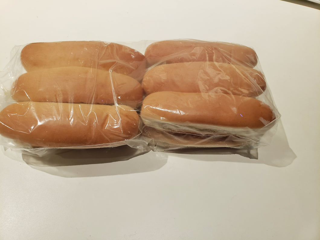 Bread, Hot Dog Buns, Gourmet, Sliced (12 Buns)