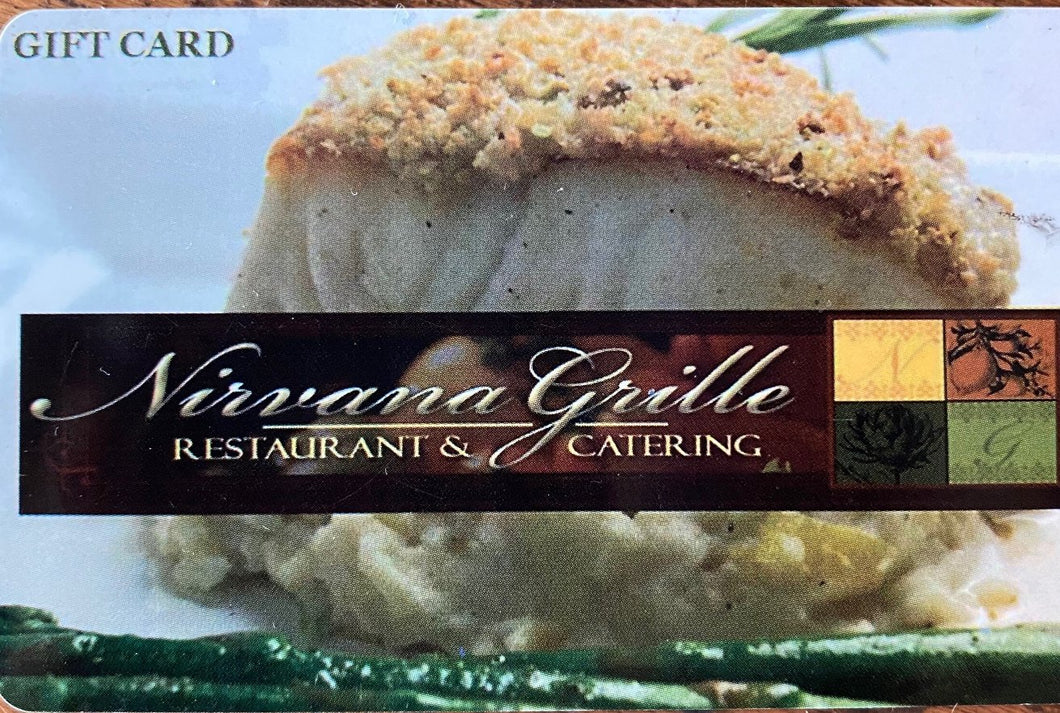 Nirvana Grille E-Gift Card
