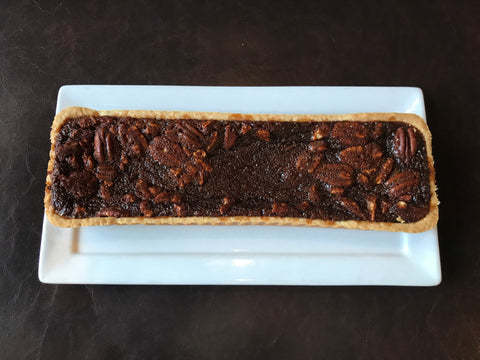 Pecan Dark Chocolate Tart, Dessert