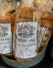 Load image into Gallery viewer, Bread, Bagels, Shirley's Laguna, Fresh Baked (1/2 Dozen)