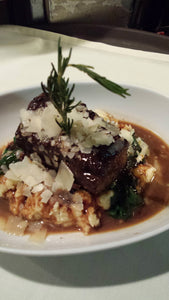 Braised All Natural Beef Short Ribs, Entrée (Hot)