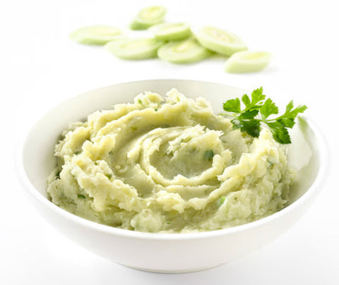 Caramelized Leeks Mashed Potatoes, Side