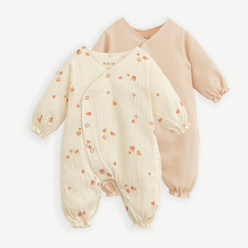 PLAY UP 2er-Set Baby Strampler Organic Cotton