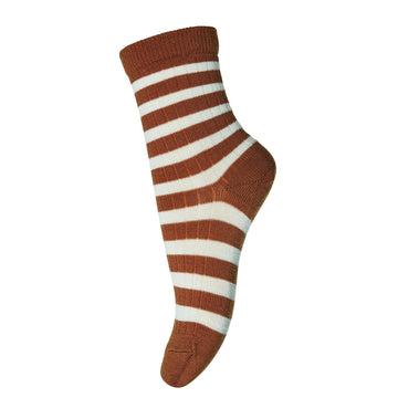 mp Denmark Socken Elis gestreift Wolle