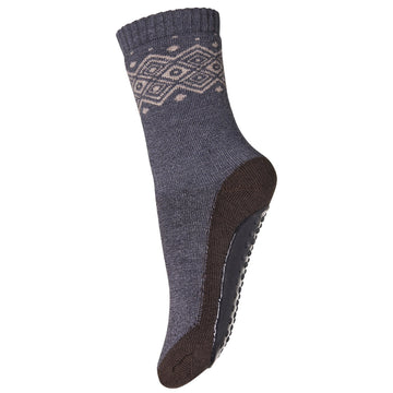 mp Denmark Anti-Rutsch Socken Bobbie Wolle