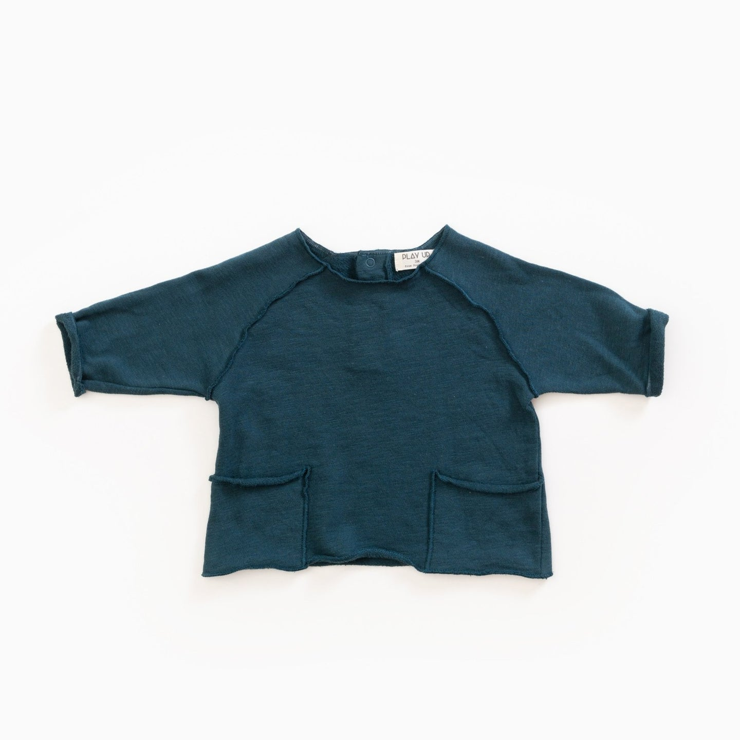 PLAY UP Sweater mit Taschen Organic Cotton