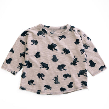 PLAY UP bedrucktes Langarm Shirt Organic Cotton