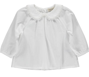 MarMar Bluse Tully mit Kragen Cotton
