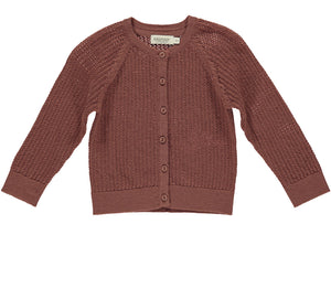 MarMar Cardigan Totti Pointelle Wolle