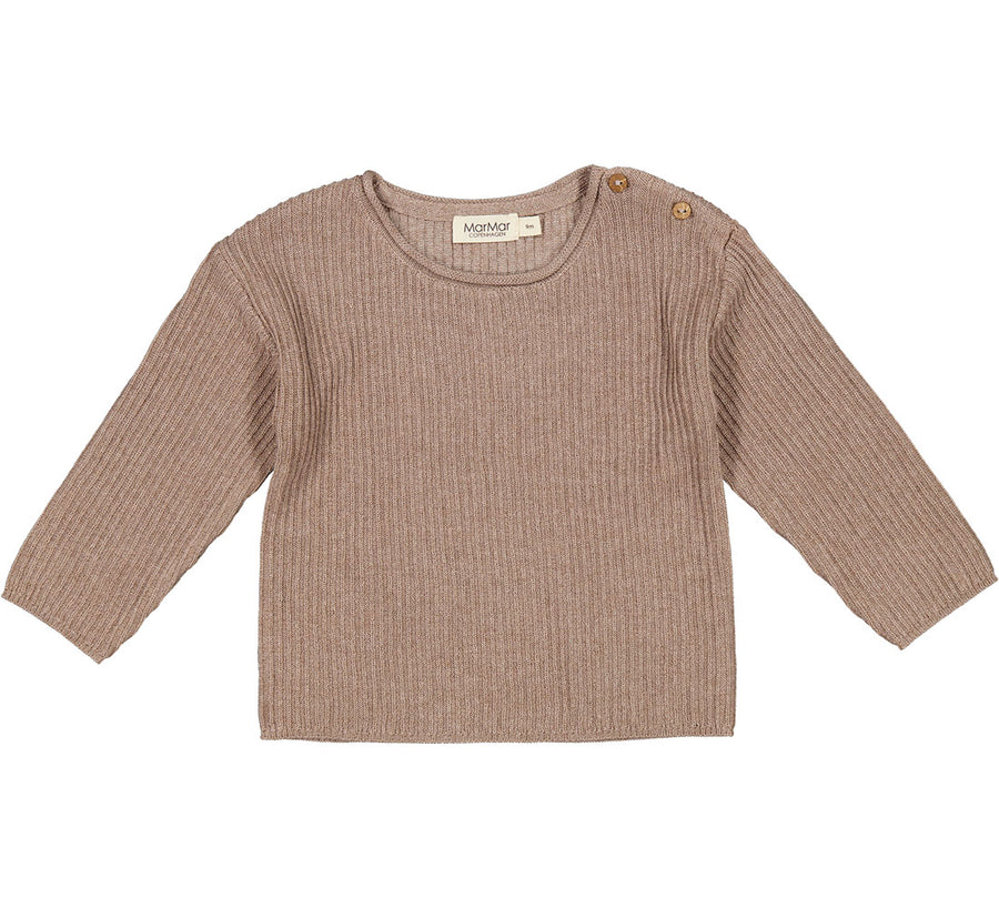 MarMar Strickpullover Tade Rib Tencel/ Cotton