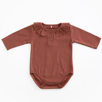 PLAY UP Body  mit Kragen Organic Cotton Jersey