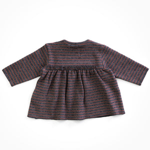 PLAY UP Pullover gestreift mit Volants Organic Cotton