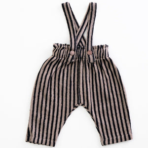PLAY UP Hosen gestreift mit Trägern Organic Cotton