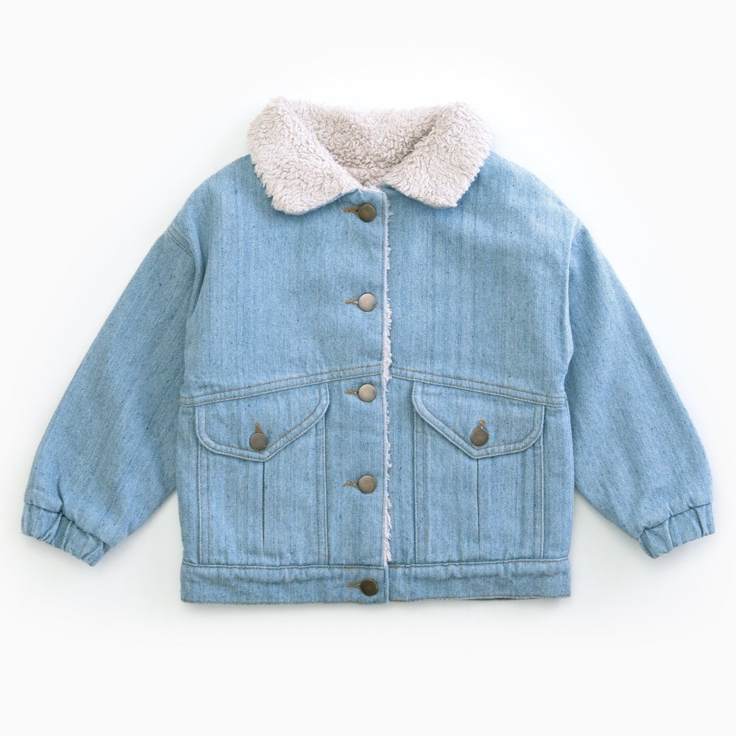 PLAY UP Recycelte Denim-Jacke Cotton