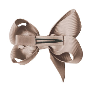 Milledeux Hairclip Small boutique bow Pigtail Set
