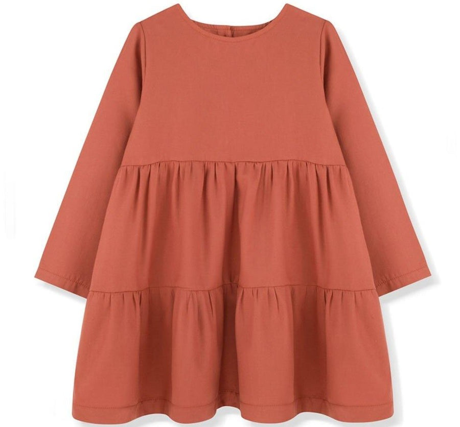 Kids on the Moon Kleid Cascade Cotton