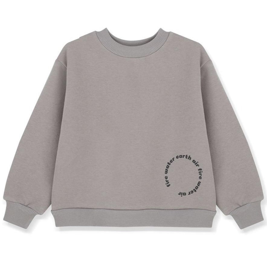 Kids on the Moon Sweatshirt Cotton
